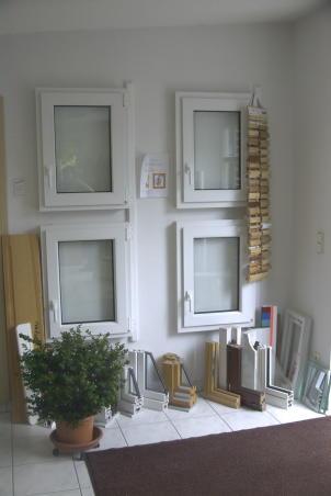 Fenstertypen und Profilarten in unserer Ausstellung